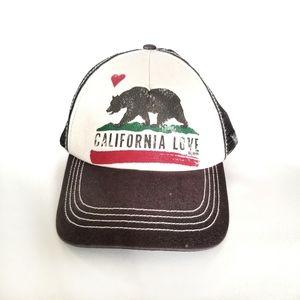 🌼Billabong California Love Pitstop Trucker Hat